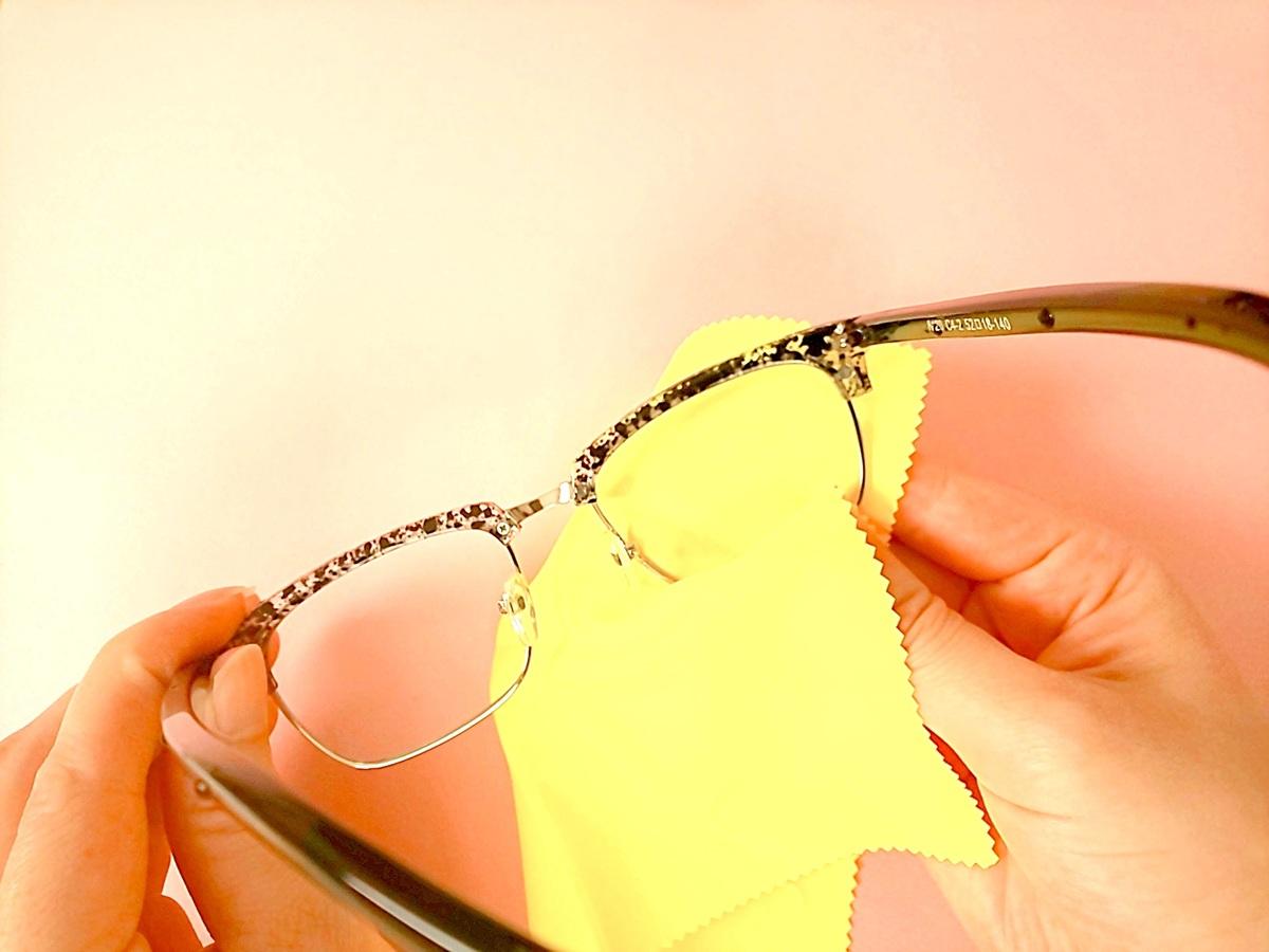 曇ら ない メガネ ふき