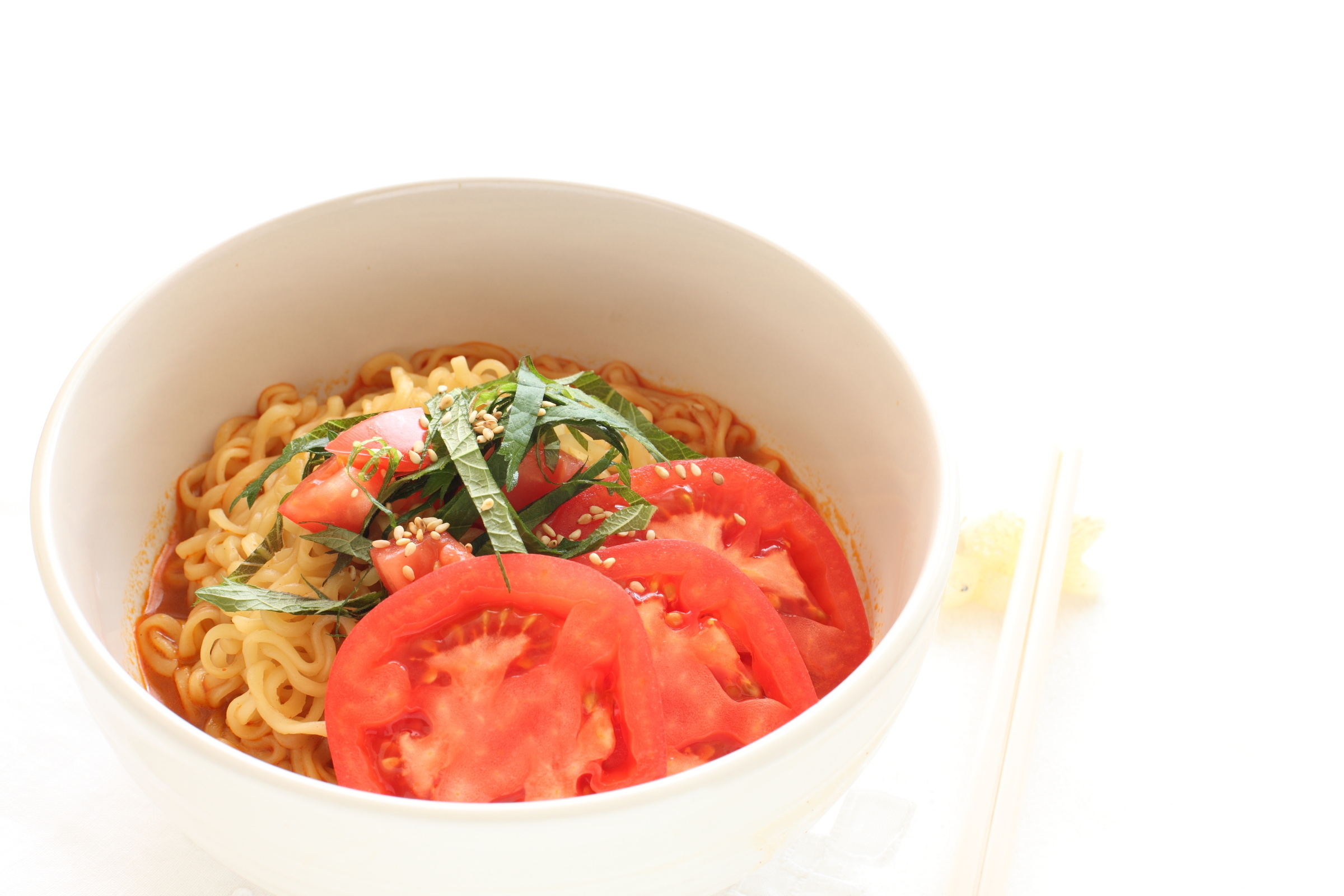 トマト麺アレンジのイメージ写真